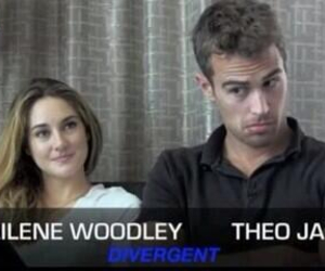 Shailene Woodley and theo james image