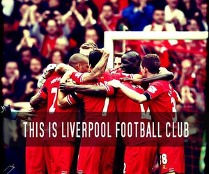 football, anfield, and Liverpool image