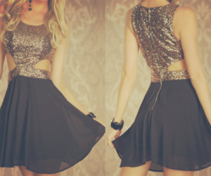 dress, cute, and party image
