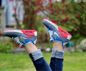 girly, shoes, and sneakers image