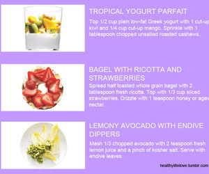 healthy tips and super foods image