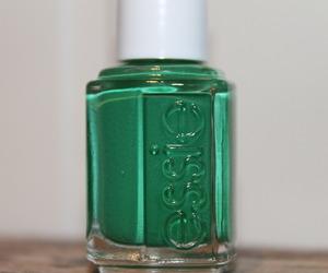 girly, green, and nail polish image