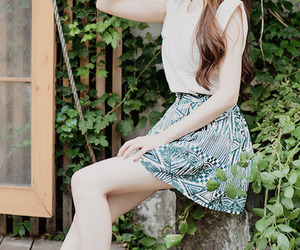 ulzzang, fashion, and girl image