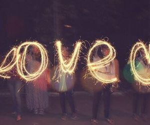 amor, love, and fuegos artificiales image