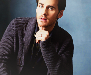 colin o'donoghue, once upon a time, and captain hook image