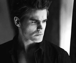 paul wesley, tvd, and sexy image