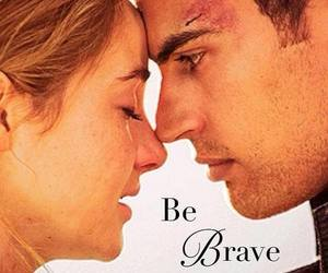 divergent, book, and brave image