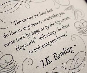 hp, jkrowling, and love image