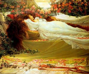 sleeping beauty and art image