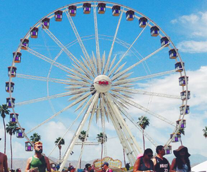 amusement, summer, and coachella image