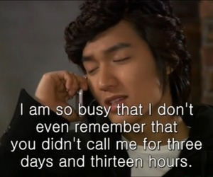 boys before flowers, funny, and quote image