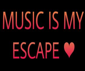 escape, cool, and music image