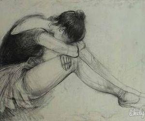 <3, ballerina, and drawings image