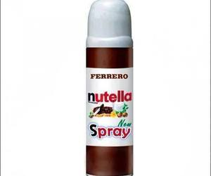 nutella and spray image