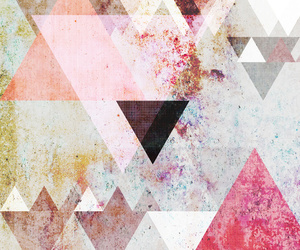 triangle, art, and background image