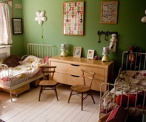 kids room, interiors, and bedroom image