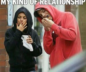Relationship, love, and food image