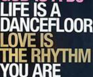 dance floor, life, and music image