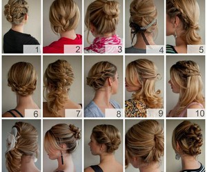 beautiful, hair styles, and hair image