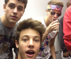 cameron dallas, taylor caniff, and magcon image