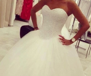 bling bling, bride, and love it image