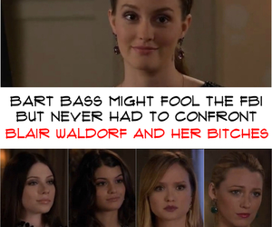 best friends, bitches, and blair image