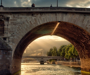 france, photography, and river image