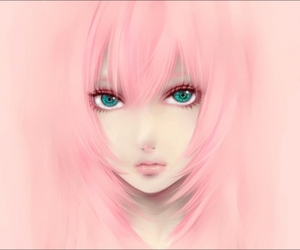 3d, anime, and pink hair image
