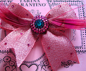 feather, pink, and bow image
