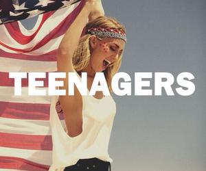 teenager, girl, and summer image