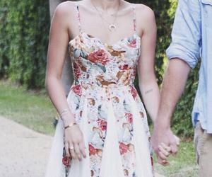 miley cyrus, beautiful, and dress image