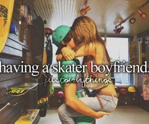 love, boyfriend, and skater image