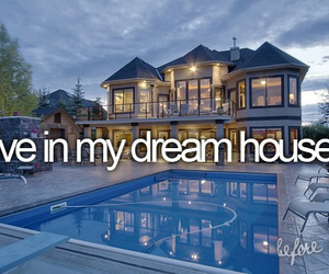 before i die, Dream, and house image