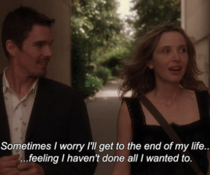 before sunset, movie, and quote image