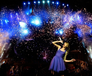 Taylor Swift, dear john, and speak now tour image