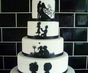 cake, good, and wedding image