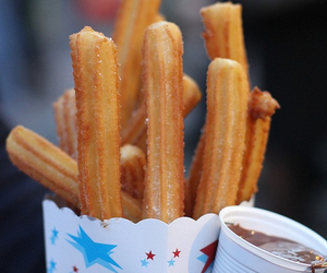 churros, delicious, and want image