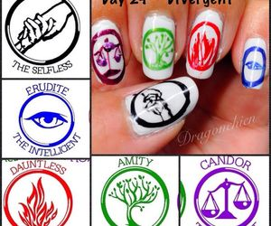 divergent and nails image