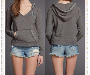 hoodie and shorts image
