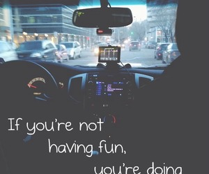 car, quotes, and life image