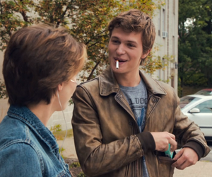 tfios, augustus waters, and hazel grace image