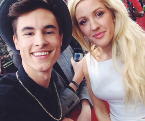 Ellie Goulding and kian lawley image