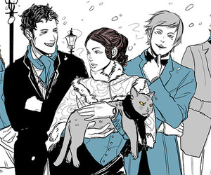 the infernal devices, tessa gray, and jem carstairs image