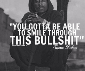 tupac, 2pac, and smile image