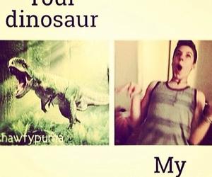 dinosaur, matthew espinosa, and magcon image