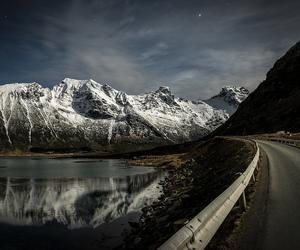 mountain, nikon, and norway image