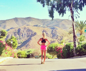 summer, fitness, and running image