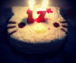 birthday, HelloKitty, and Seventeen image