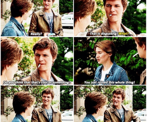 Shailene Woodley, the fault in our stars, and augustus waters image