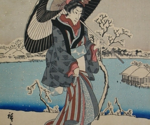 antique, art, and asian image